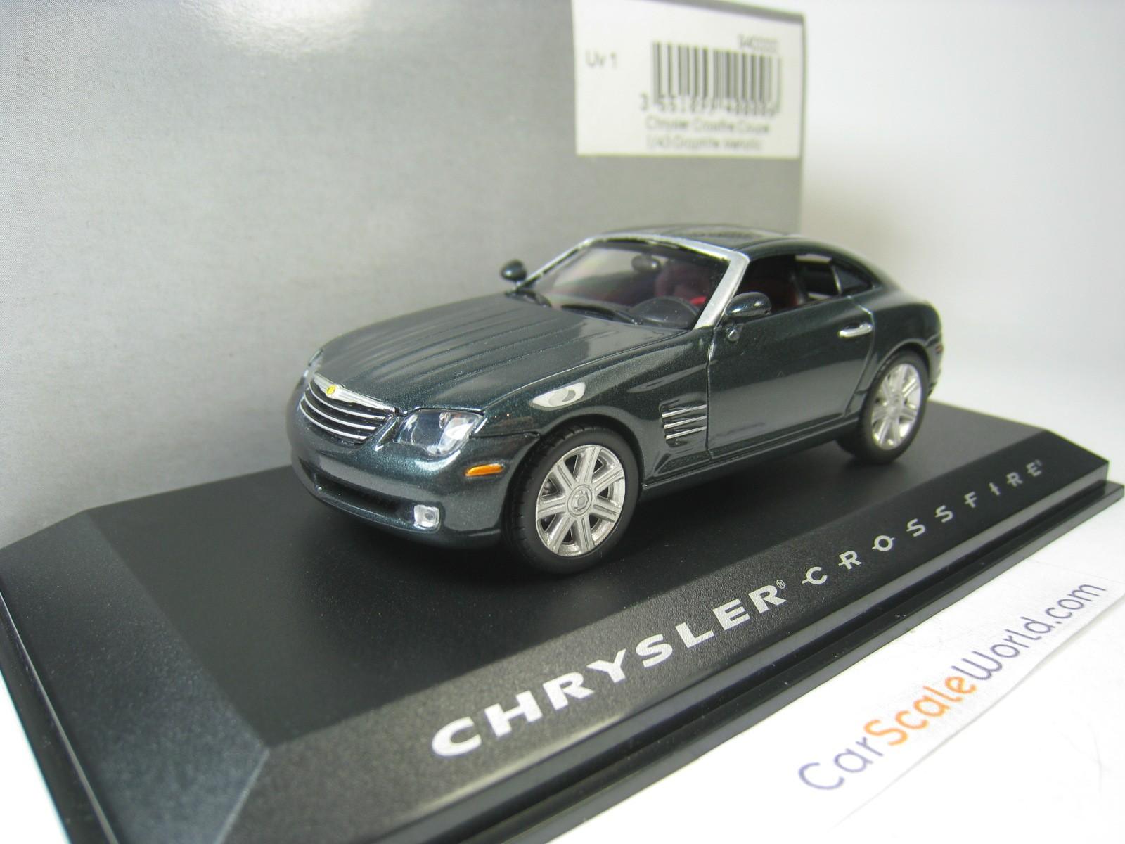 NOREV 1:43 silber-Metallic Chrysler Crossfire Roadster