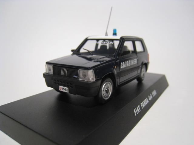 Carabinieri Fiat Panda 4X4 Police 1//43 De Agostini cochesaescala