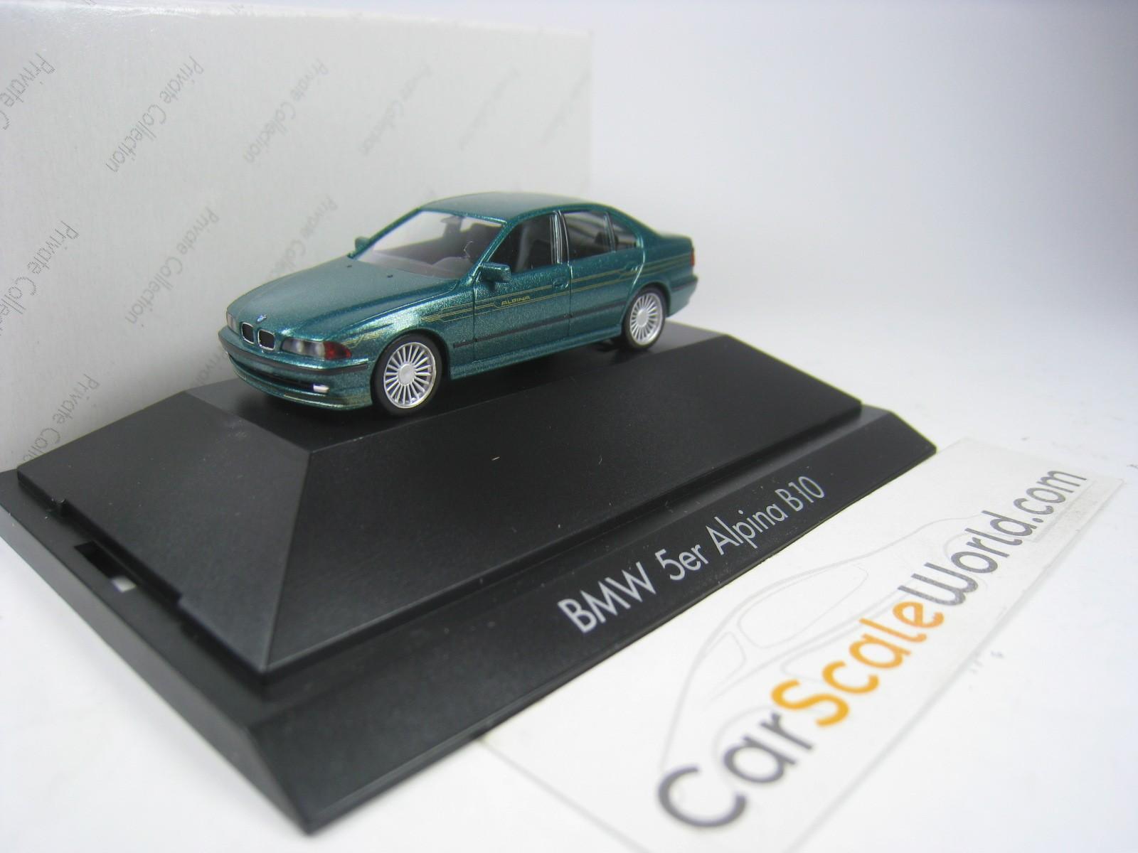 Alpina B10 Bmw 5 Series E39 1 87 Herpa Green Carscaleworld