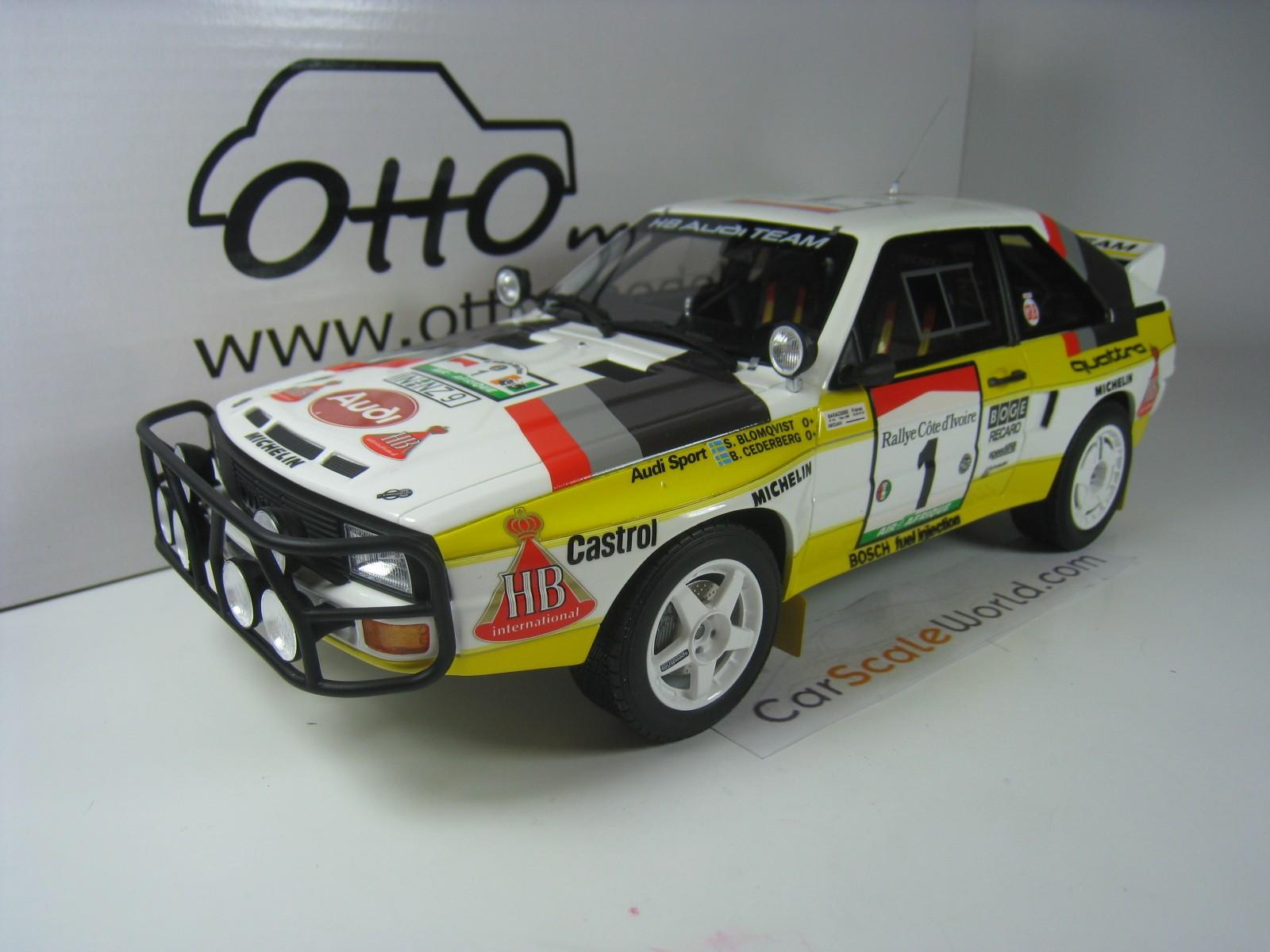 1:18 otto AUDI SPORT QUATTRO Safari 1984 Blomqvist NEW in Premium-MODELCARS