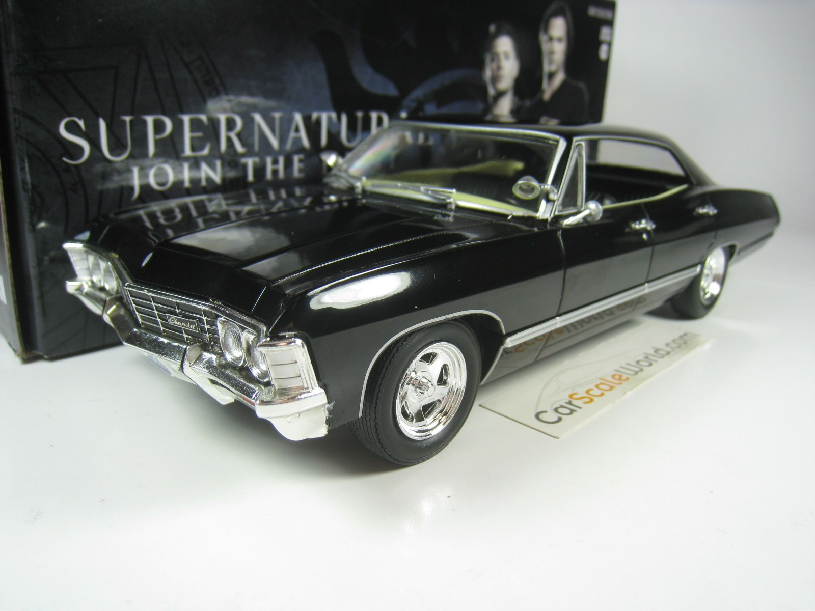 Chevrolet Impala Sport Sedan 1967 Supernatural 1 24 Greenlight Carscaleworld