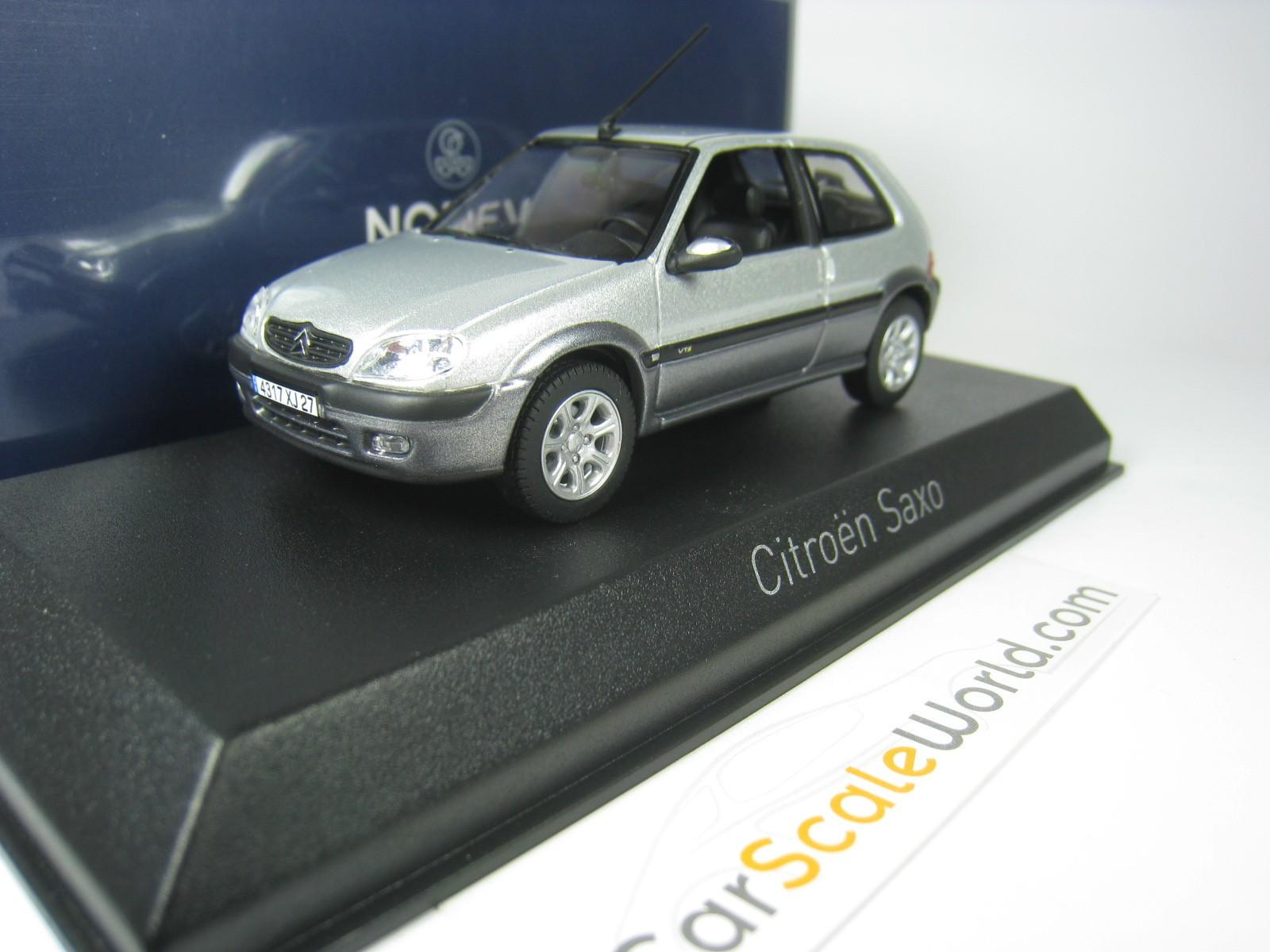 Citroen Saxo Vts 2001 143 Norev Grey Carscaleworld