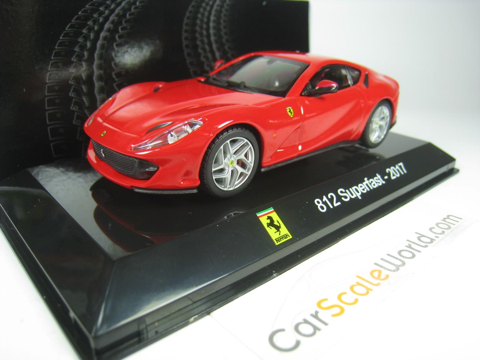 Ferrari 812 Superfast 2017 1:43 Ixo Salvat Diecast coche Supercar