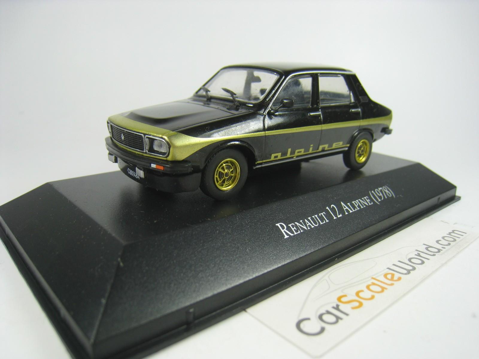 Renault de 110 1300 Alpine 1971 VQ29 Coche 1//24 Salvat Modelos