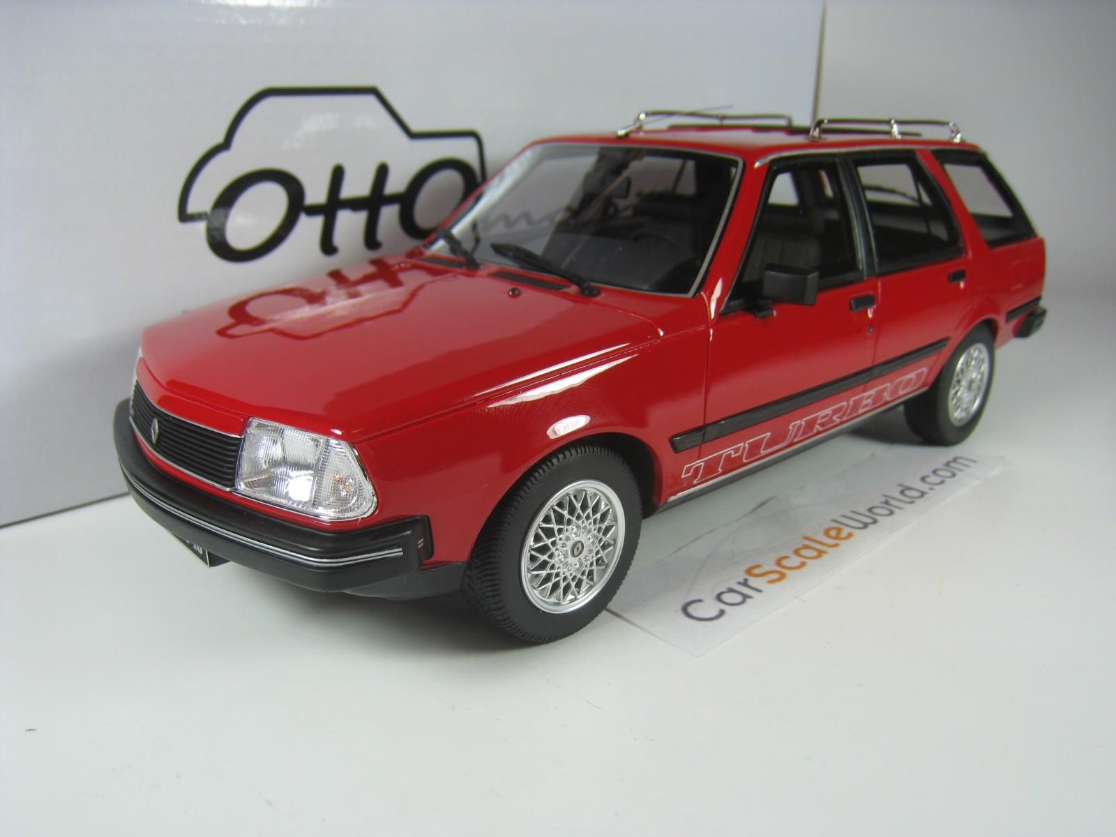 Renault 18 Turbo Break 1984 1 18 Otto Mobile Red Carscaleworld