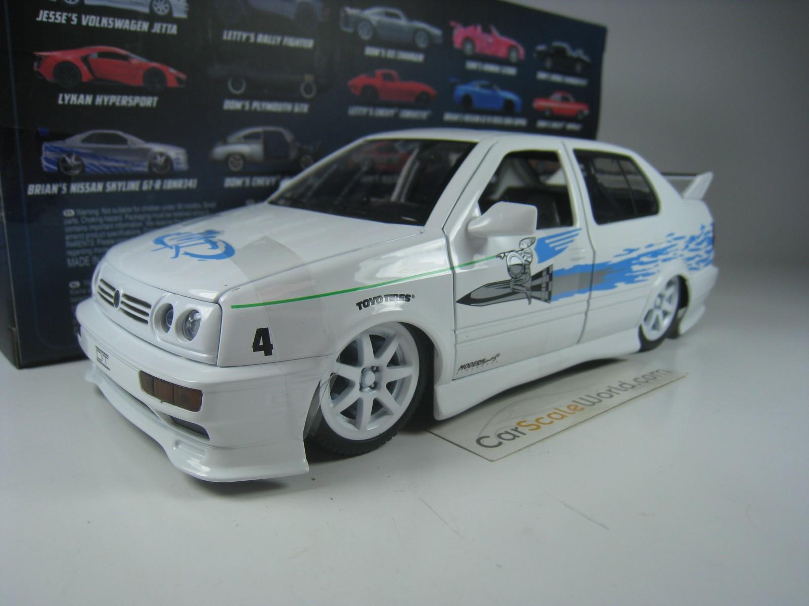 Jada Volkswagen Jetta Jesse Fast And Furious 99591 1//24