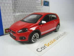 ABARTH GRANDE PUNTO 1/43 BBURAGO (RED)