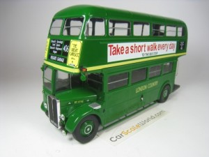 AEC REGENT III RT LONDON COUNTRY 1947 1/43 IXO HAC