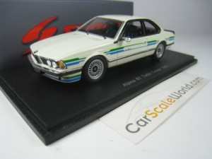BMW ALPINA B7 TURBO COUPE 1985 1/43 SPARK (WHITE)