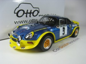 ALPINE A110 TURBO 1972 RALLY CEVENNES #9 THERIER 1