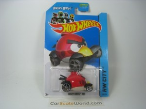 ANGRY BIRDS RED HW CITY 2014 HOTWHEELS