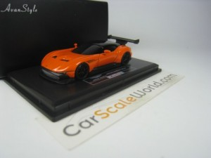 ASTON MARTIN VULCAN 1/87 FRONTIART (ORANGE)