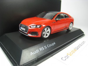 AUDI RS5 2018 1/43 SPARK (MISANO RED)