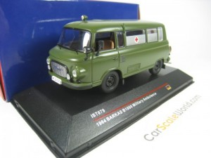 BARKAS B1000 MILITARY AMBULANCE 1/43 IST MODELS