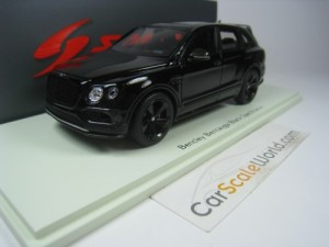 BENTLEY BENTAYGA BLACK SPECIFICATION  1/43 SPARK (