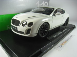 BENTLEY CONTINENTAL SUPERSPORTS 2010 1/18 WELLY (W