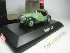 BMW 328 ROADSTER 1936 1/43 SCHUCO (GREEN)