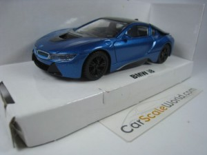 BMW i8 1/43 RASTAR (BLUE)