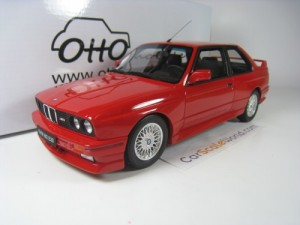 BMW M3 E30 1989 1/18 OTTO MOBILE (RED)