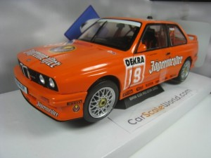 BMW M3 E30 DTM 1992 JAGERMEISTER #19 HAHNE 1/18 SO