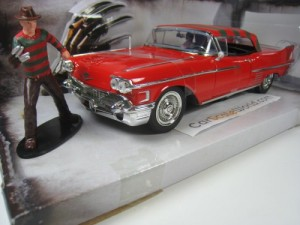 CADILLAC SERIES 62 1958 WITH FREDDY KRUEGER FIGURE