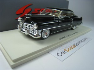 CADILLAC TYPE 61 COUPE 1950 NEGRO 1/43 SPARK (BLAC