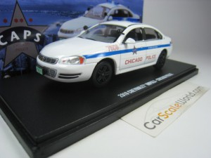 CHEVROLET IMPALA CHICAGO POLICE 2010 1/43 GREENLIG