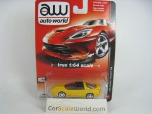 CHEVROLET CAMARO T/A 1993 1/64 AUTOWORLD (YELLOW)