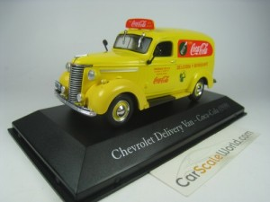 CHEVROLET DELIVERY VAN COCA COLA REGINALD GEE 1939