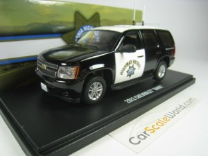 CHEVROLET TAHOE 2012 CALIFORNIA HIGHWAY PATROL 1/4