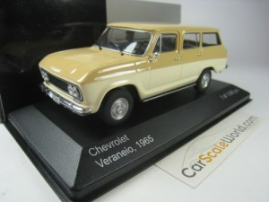 CHEVROLET VERANEIO 1965 1/43 IXO WHITEBOX (BEIGE)