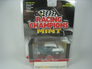 CHEVROLET CHEVY BEL AIR 1955 1/64 RACING CHAMPIONS