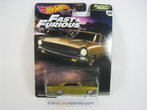 66 CHEVY NOVA FAST AND FURIOUS MOTOR CITY MUSCLE H