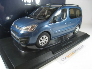 CITROEN BERLINGO 2016 1/18 NOREV (KYANOS BLUE)