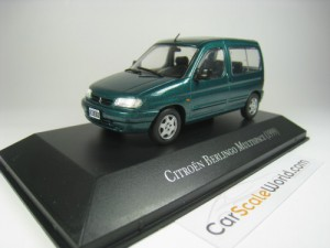 CITROEN BERLINGO MULTISPACE 1999 1/43 IXO SALVAT (