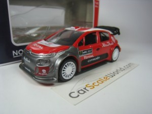 CITROEN C3 WRC 2017 OFFICIAL PRESENTATION 1/43 NOR