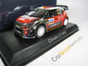CITROEN C3 WRC #8 TOUR DE CORSE 2017 BREEN 1/43 NO