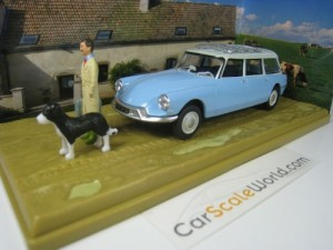 CITROEN ID 19 BREAK VETERINAIRE 1/43 ELIGOR ATLAS