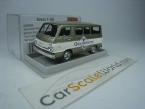 DODGE A100 QUEENSBERRY PLACE 1/87 BREKINA