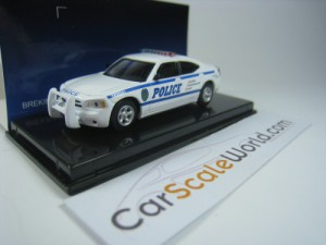 DODGE CHARGER POLICE HIGHWAY PATROL 1/87 RICKO