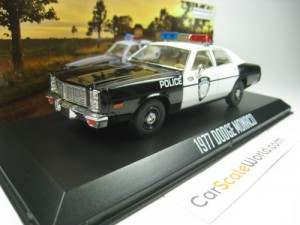 DODGE MONACO 1977 POLICE CITY OF ROSEVILLE 1/43 GR