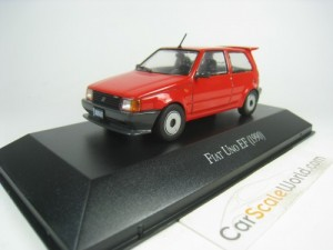 FIAT UNO EF 1990 1/43 IXO SALVAT (RED) WITH BLISTE