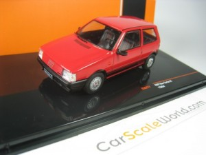 FIAT UNO TURBO IE PHASE I 1984 1/43 IXO (RED)