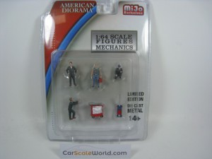 FIGURES MECHANICS 1/64 AMERICAN DIORAMA