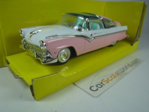 FORD CROWN VICTORIA 1955 1/43 YAT MING - ROAD SIGN