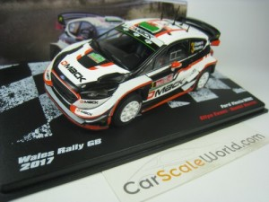 FORD FIESTA WRC 2017 WALES RALLY GB E. EVANS 1/43
