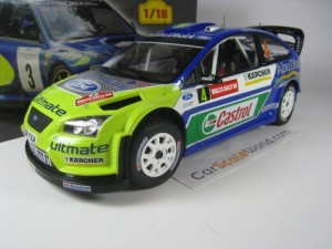 FORD FOCUS RS WRC 2007 RALLY OF GALES M. HIRVONEN