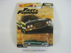 72 FORD GRAN TORINO SPORT FAST AND FURIOUS MOTOR C