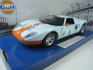 FORD GT CONCEPT GULF 1/24 MOTORMAX (BLUE)