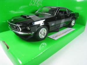 FORD MUSTANG BOSS 429 1969 1/24 WELLY (RED)